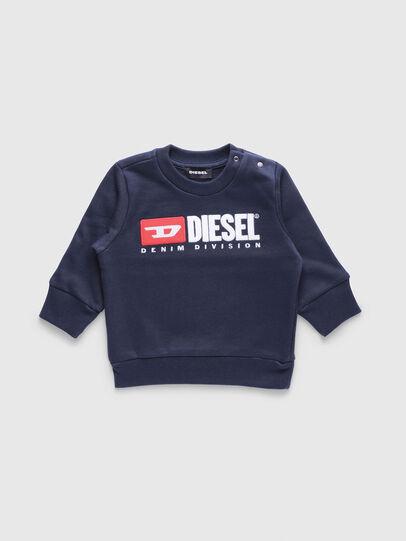 Diesel - SCREWDIVISIONB, Navy Blue - Sweaters - Image 1
