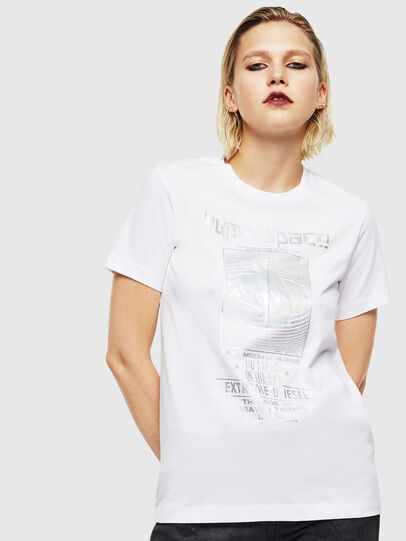 Diesel - T-SILY-YB, White - T-Shirts - Image 1