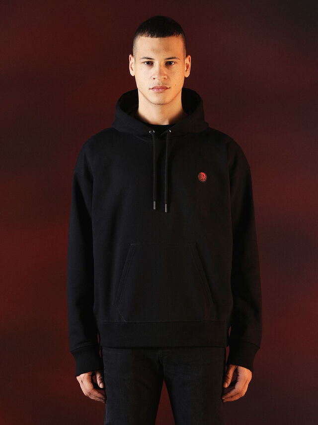 DVL-SWEAT-SPECIAL COLLECTION, Black