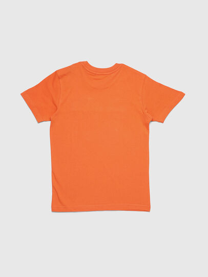 Diesel - TJUSTDIVISION, Orange - T-shirts and Tops - Image 3