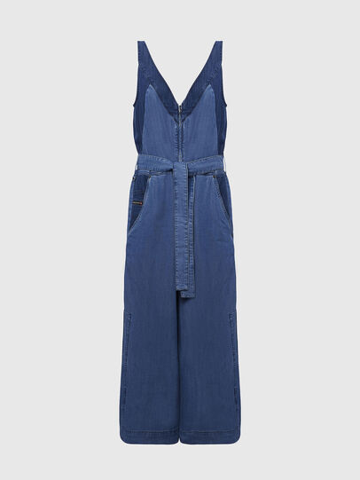 Diesel - DE-LORYNA, Medium blue - Jumpsuits - Image 1