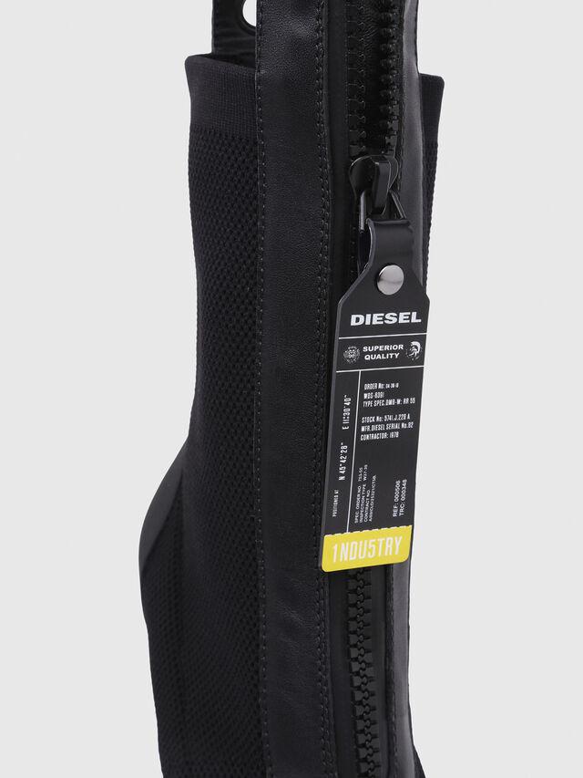 Diesel - D-SLANTY HAS, Black - Ankle Boots - Image 5