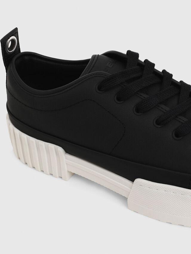 Diesel - S-MERLEY LC, Black - Sneakers - Image 5