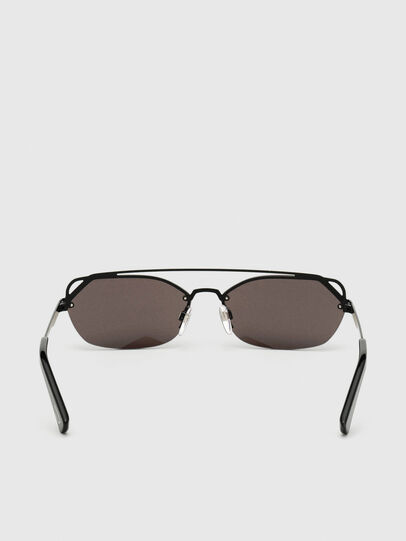 Diesel - DL0313, Black/Violet - Sunglasses - Image 4