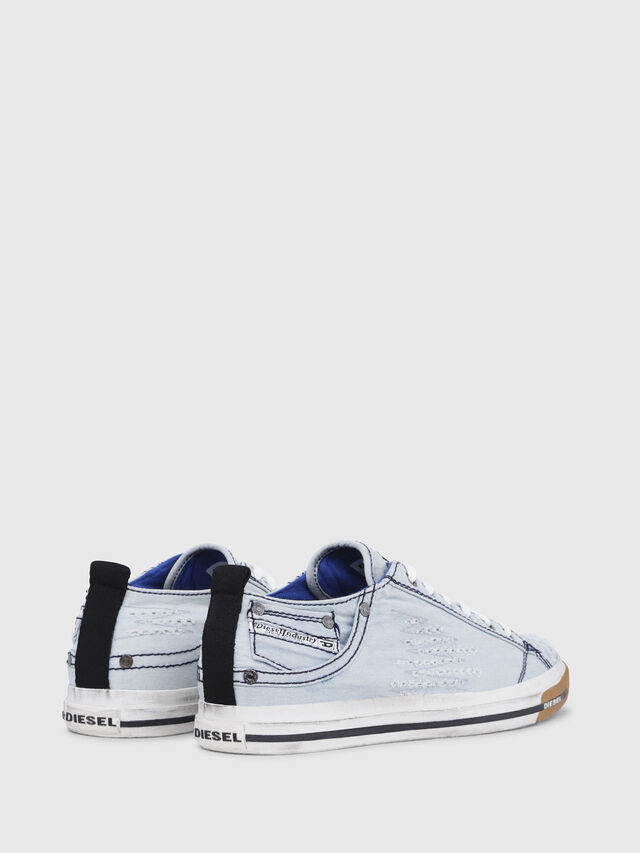 Diesel - EXPOSURE LOW I, Light Blue - Sneakers - Image 3