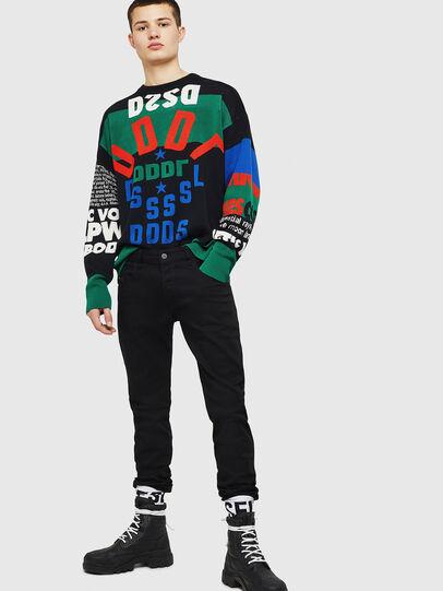 Diesel - D-Bazer 0688H, Black/Dark grey - Jeans - Image 6