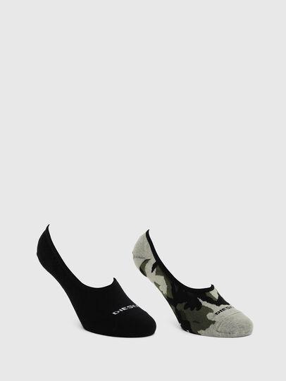 Diesel - SKM-HIDEPAT-TWOPACK, Gray/Black - Socks - Image 1