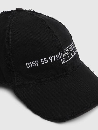 Diesel - CIREVERSE, Black - Caps - Image 3