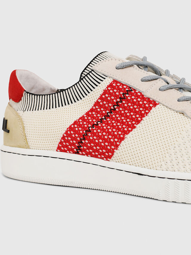 Diesel - S-MILLENIUM LOW, Cream - Sneakers - Image 4