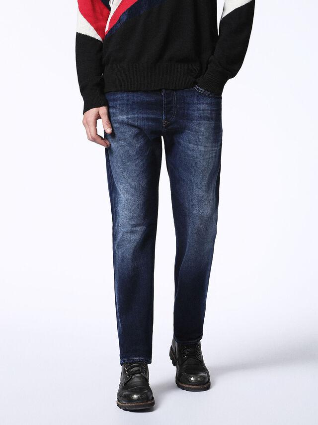 Diesel Buster 0860L, Dark Blue - Jeans - Image 1