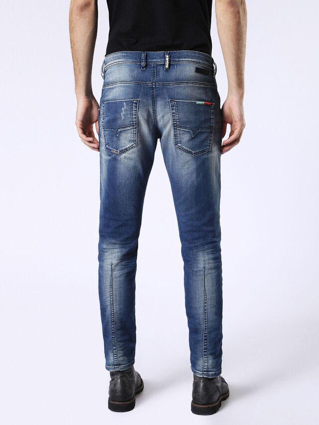 Diesel Krooley JoggJeans 0680Y, Medium blue - Jeans - Image 3