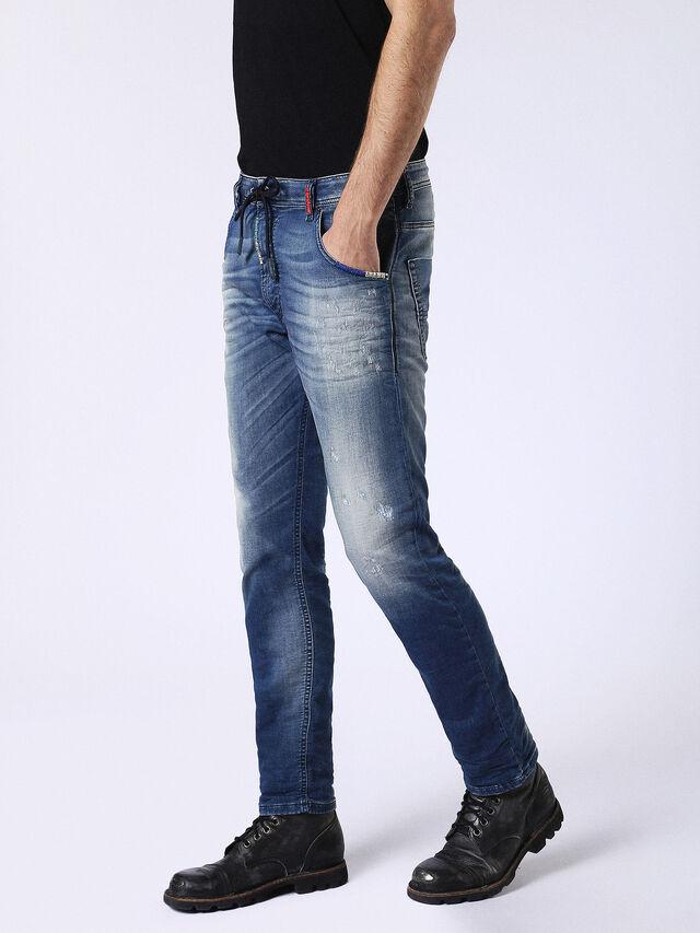 Diesel Krooley JoggJeans 0680Y, Medium blue - Jeans - Image 7