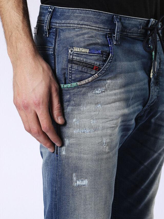 Diesel Krooley JoggJeans 0680Y, Medium blue - Jeans - Image 4