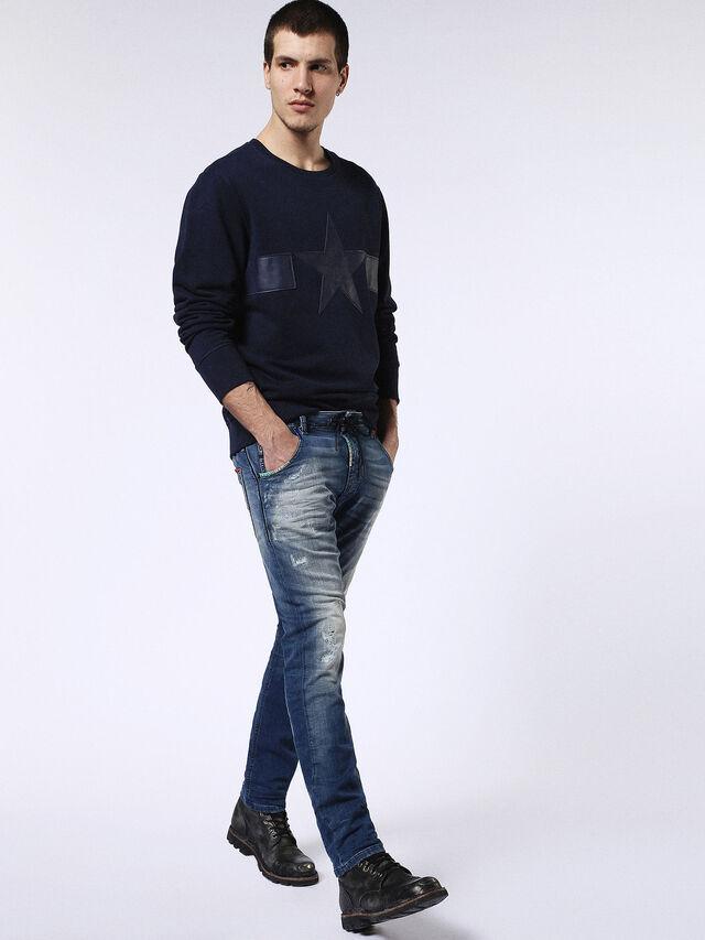 Diesel - Krooley JoggJeans 0680Y, Medium blue - Jeans - Image 5
