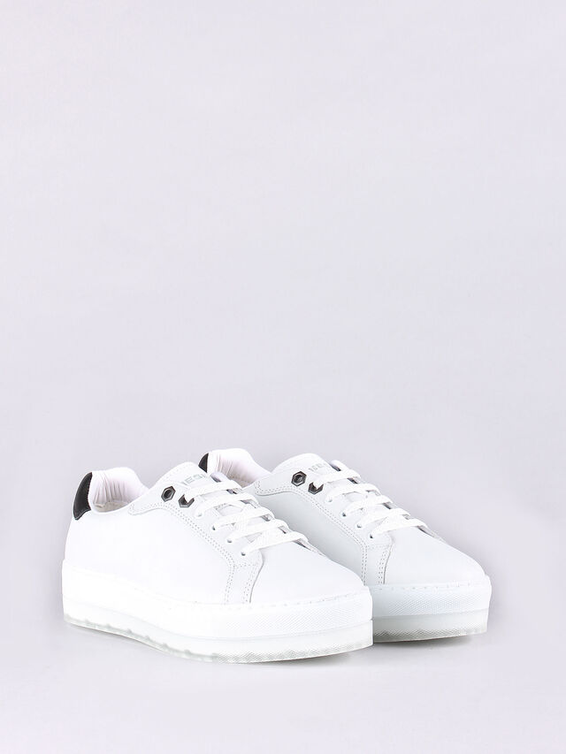 Diesel - LENGLAS S- ANDYES W, White - Sneakers - Image 3